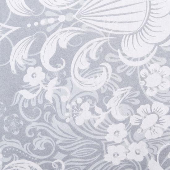 لحاف كينج وغطائي وسادة بطبعات - 230x220 سم