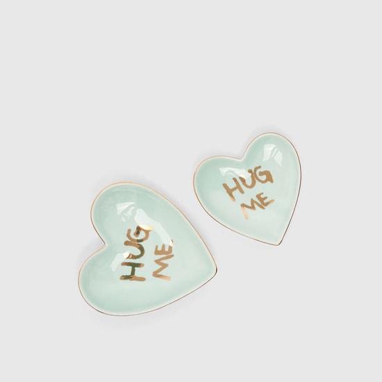 صينيّة مجوهرات سيراميك بتصميم هاج مي - طقم من 2