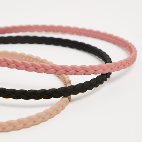 Set of 3 - Solid Hairband