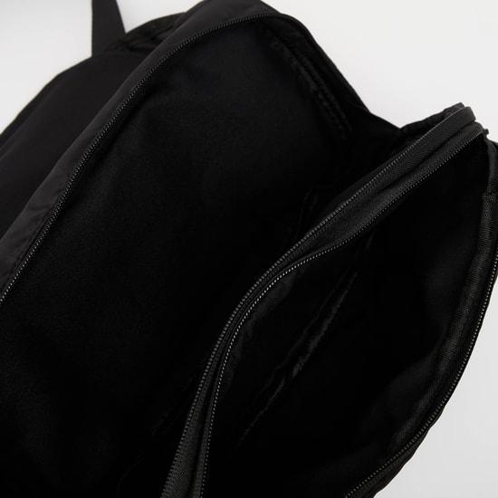 شنطة خصر سادة بسحّاب إغلاق وحزام قابل للتعديل