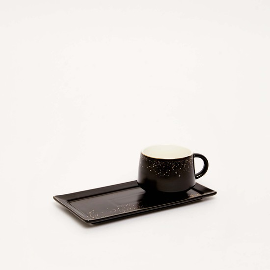 Printed Cup and Tray Set