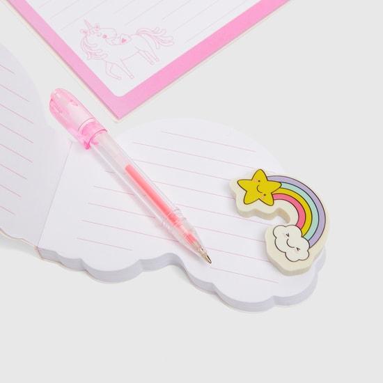 Unicorn 6-Piece Stationery Set