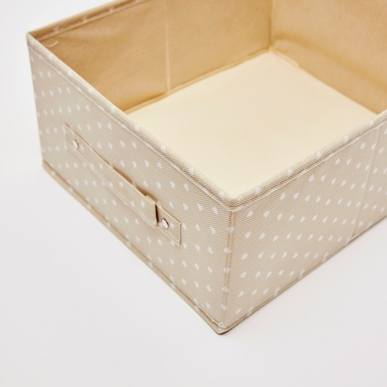 صندوق تخزين بطبعات - 33x28x15 سم