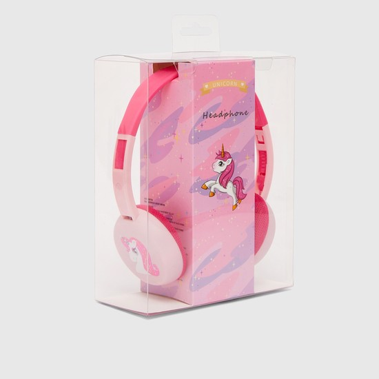 Unicorn Print Headphones