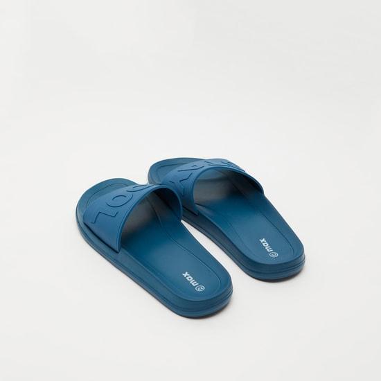 Embossed Slip-On Beach Slippers