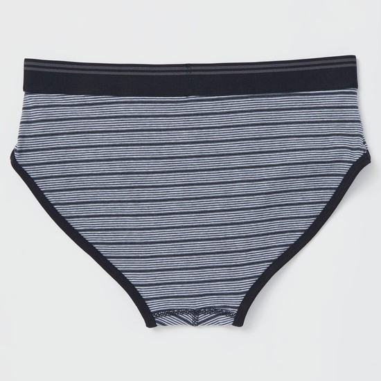Pack of 3 - Assorted Briefs with Elasticised Waistband
