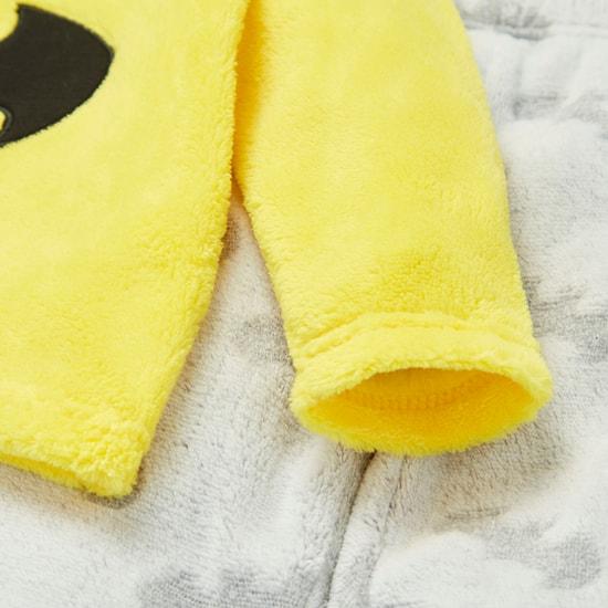 طقم بنطلون بيجاما وتيشيرت بأكمام قصيرة وطبعات باتمان