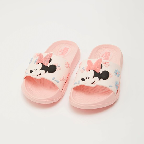 Minnie Mouse Beach Slippers