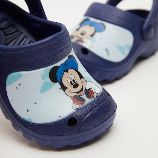 Mickey Mouse Print Slip-On Crocs