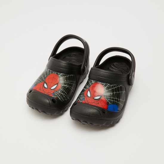 Spider-Man Print Slip-On Crocs