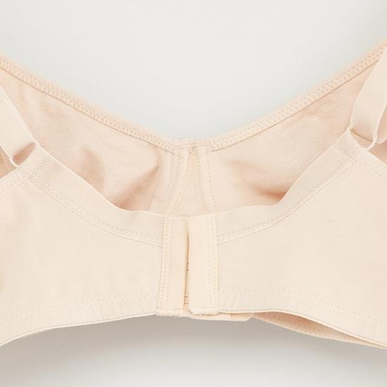 صدريّة سادة بحمّالات قابلة للتعديل- طقم من قطعتين