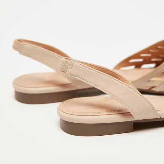 حذاء ميول سهل الارتداء بارز الملمس بحزام مطاطي