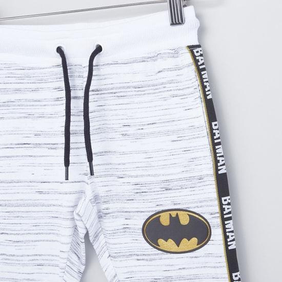 بنطلون رياضي برباط وبطبعات باتمان