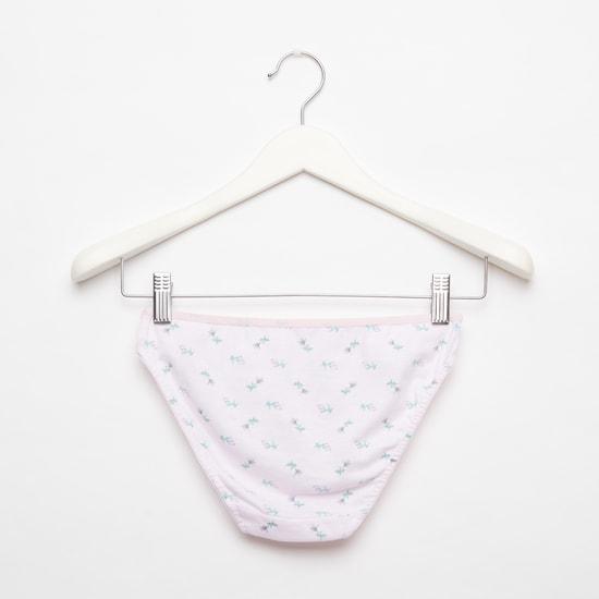 Set of 5 - Assorted Bikini Briefs with Elasticated Waistband