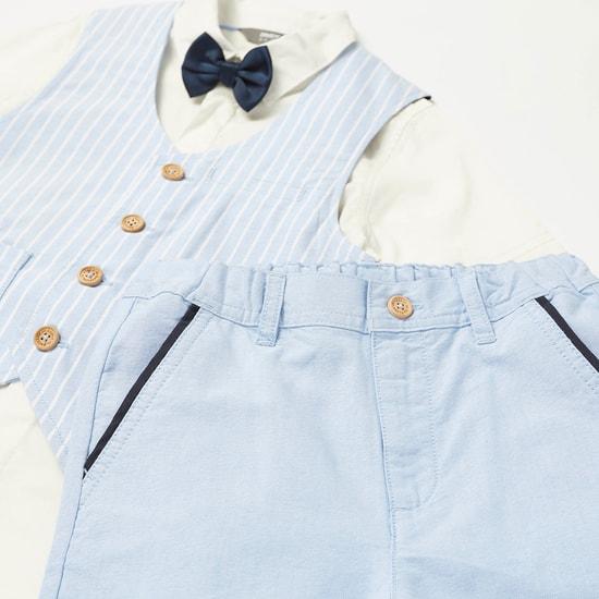 طقم ملابس مخطط من 3 قطع