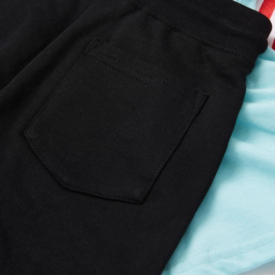 طقم ملابس بطبعات 3 قطع