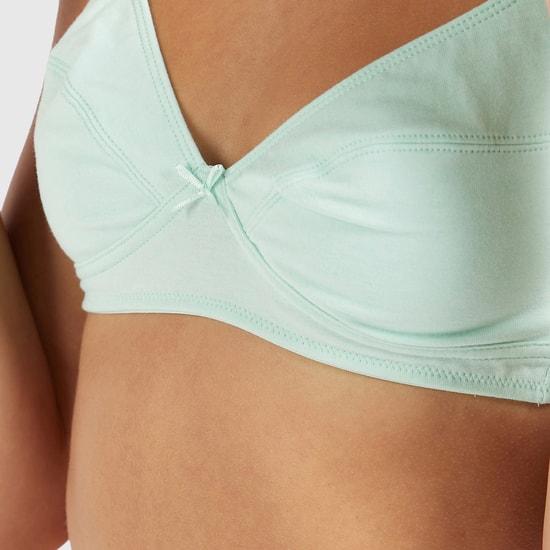 صدريّات سادة غير مبطّنة بحمالات قابلة للتعديل - طقم من قطعتين