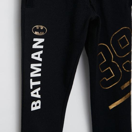 بنطلون برباط وجيوب وطبعات فويل باتمان