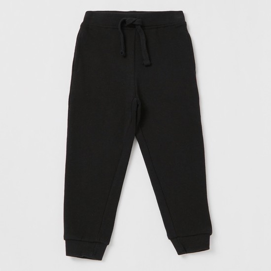 Pack of 2 - Assorted Jog Pants with Drawstring Waistband and Pockets