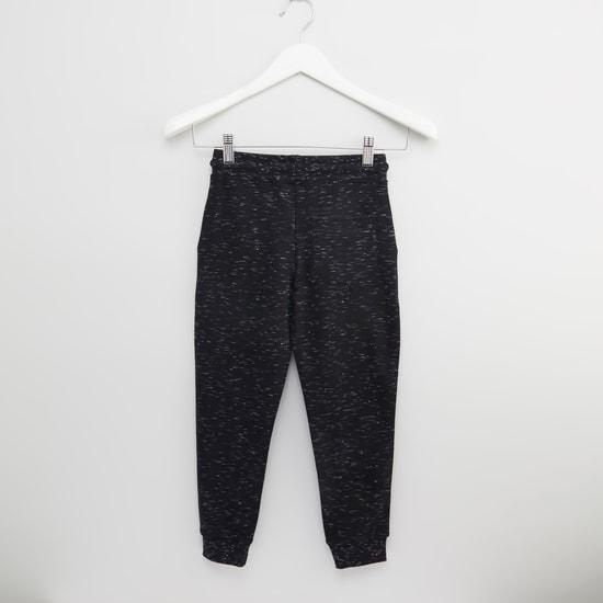 Spiderman Applique Detail Jog Pants with Pocket Detail and Drawstring
