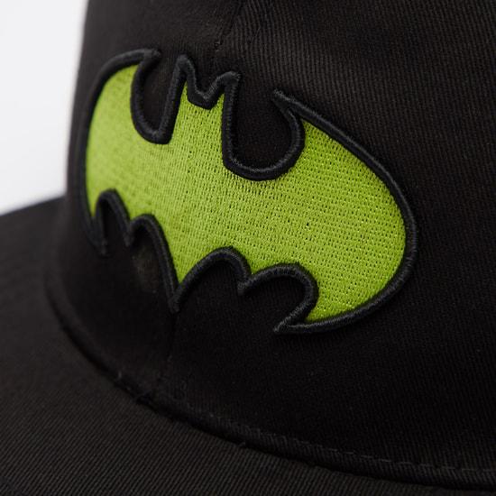 قبّعة كاب بتطريز باتمان وزر إغلاق كبّاس