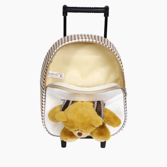 Plush Bear Trolley Bag