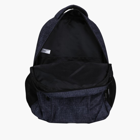 Textured 3-Compartment Backpack