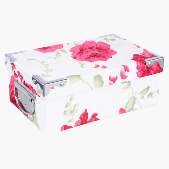 Flower Printed Decorative Box