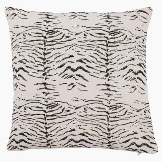 Animal Print Filled Cushion - 42x42 cms