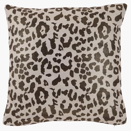 Animal Print Filled Cushion - 42x42 cms