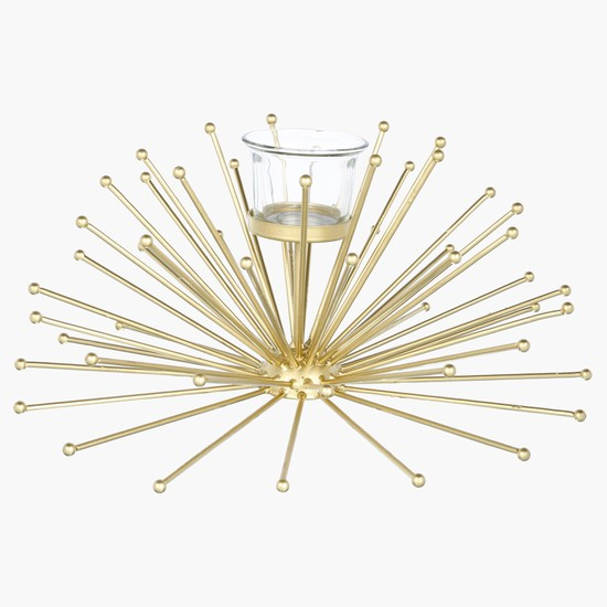 Decorative Candle Holder Set - 29.5 x 29.5 x 14 cms