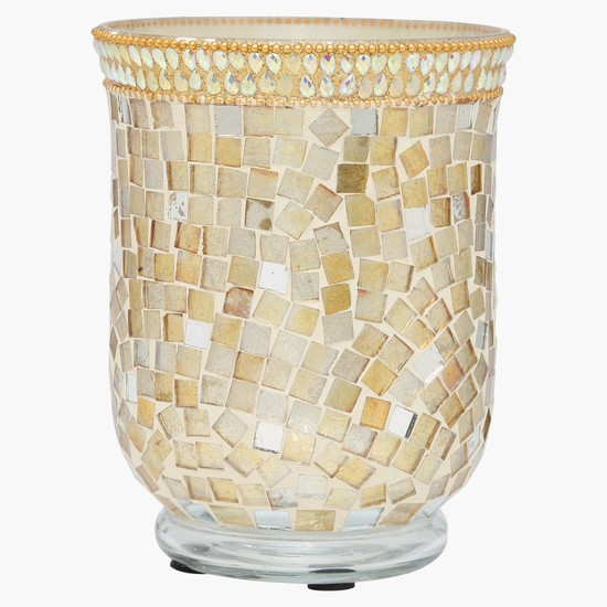 Mosaic Design Candle Holder
