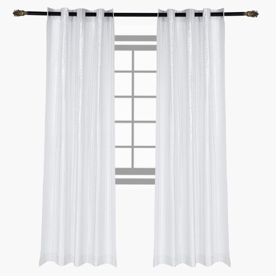 Textured Curtain Pair