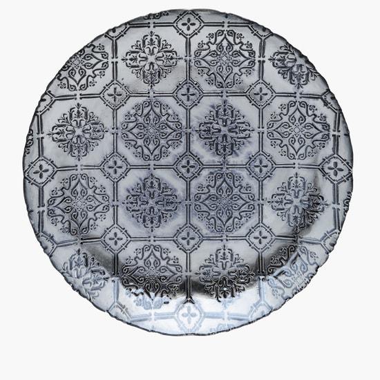 Debossed Round Platter