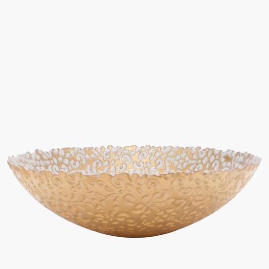 Decorative Bowl with Uneven Edges