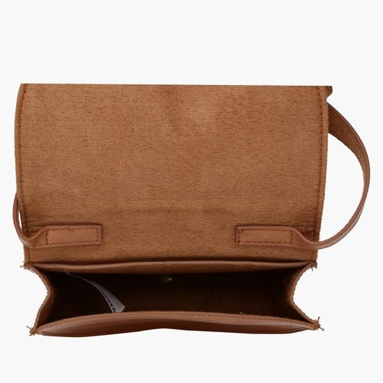 Printed Crossbody Bag with Adjustable Sling