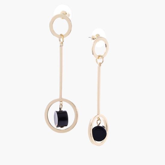 Dangling Earrings with Push Back Closure