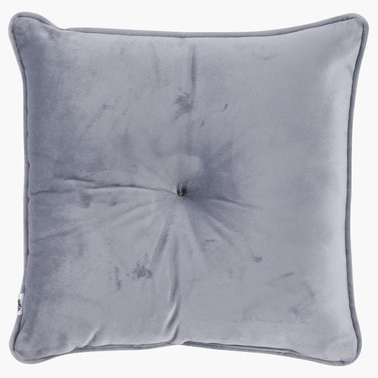 Embellished Square Filled Cushion - 30 x 30 cms