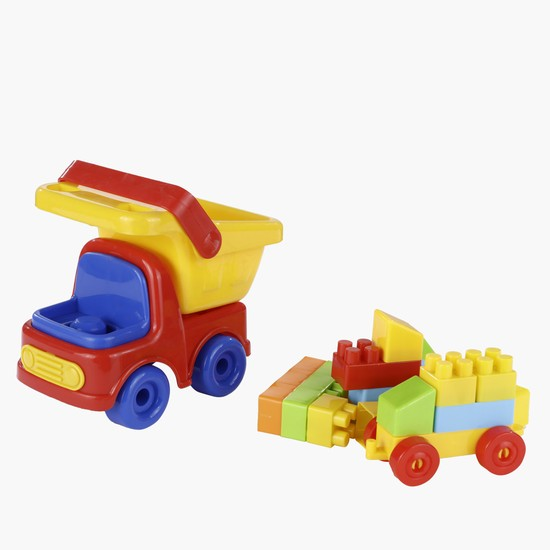 Block and Truck Play Set