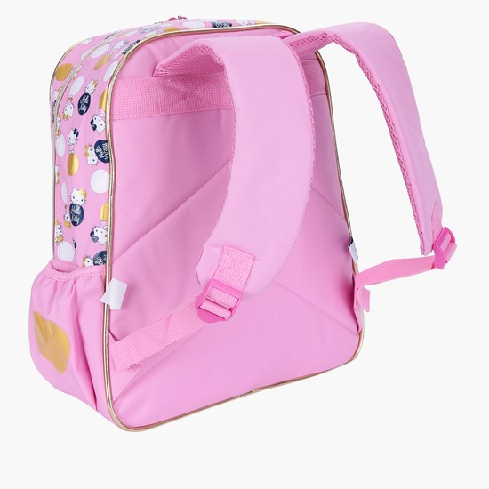 Hello Kitty Printed Backpack - 38cms