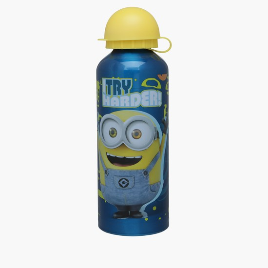 Minions Printed Water Bottle