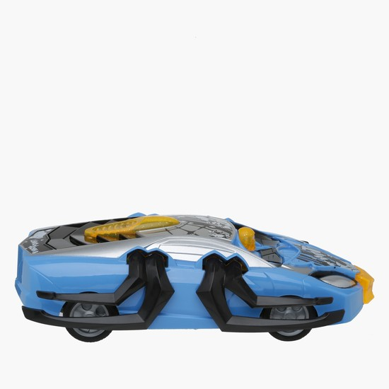 Remote Control 4-Channel Car with Transformation