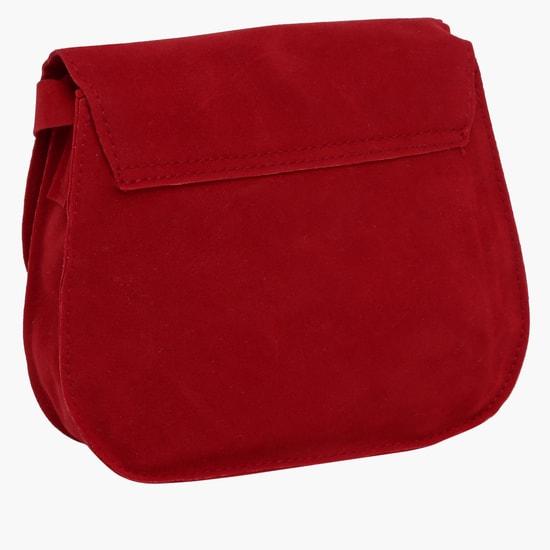 Flap Closure Crossbody Bag