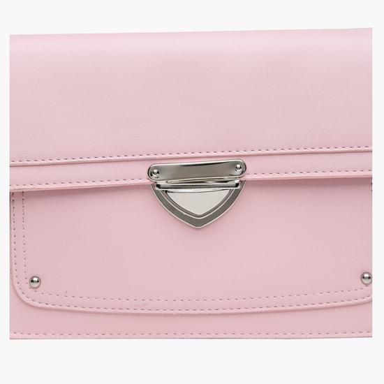 Crossbody Bag with Flap Closure