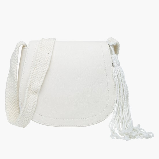 Crossbody Bag with Flap Closure