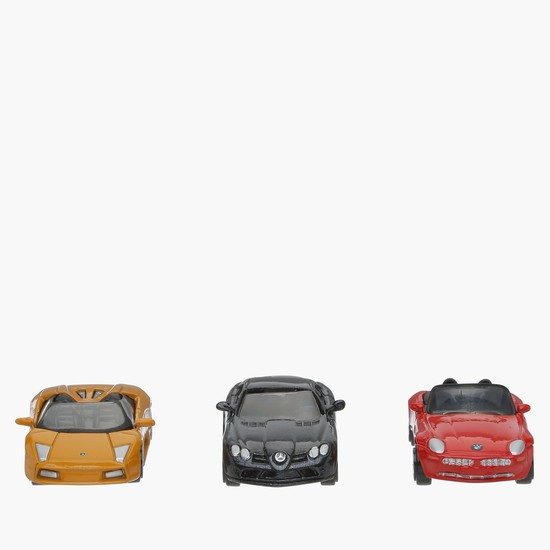 Motor Max Die Cast 3-Piece Vehicle Set