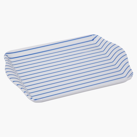 Striped Serving Tray