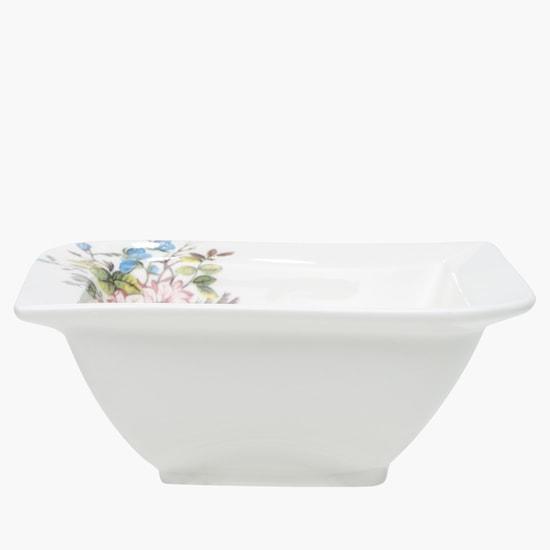 وعاء بطبعات الأزهار