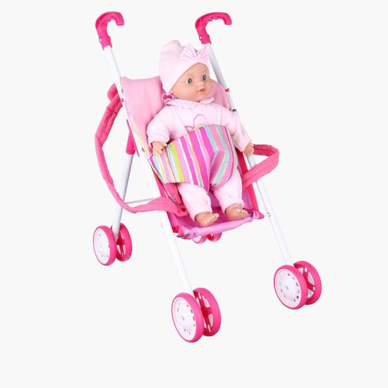 Baby Doll Set With Pram