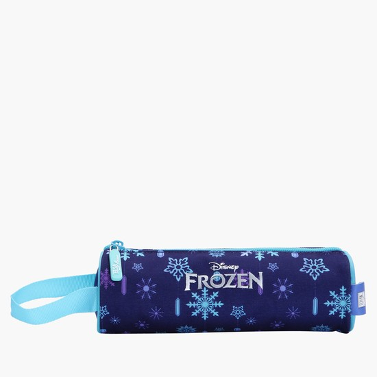 Frozen Printed Round Pencil Case
